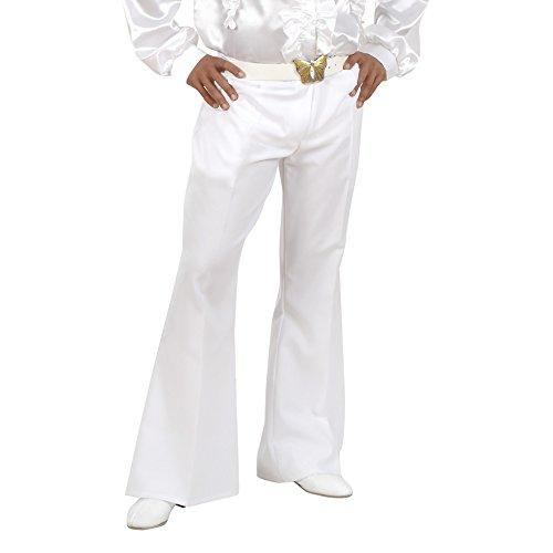 Widmann - Cs928098 - Pantalon Homme Blanc Extensible Taille M/l