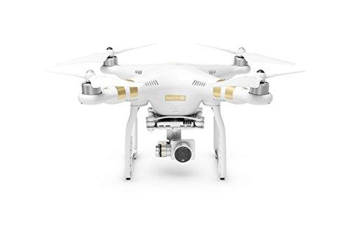 DJI Phantom 3 4K - drones con cámara (Color blanco, Polímero de litio, 5.725 - 5/825, 3840 x 2160 Pixeles)