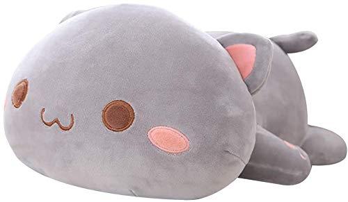 shownicer Plush Pillow, Cute Cat Doll Cushion, Soft Toy Stuffed Animal...