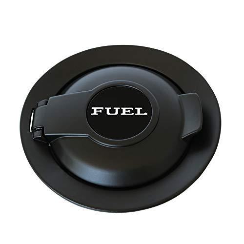 CARMOCAR Fuel Gas Door Vapor Edition Matte Black Replacement for Dodge Challenger Fuel Filler Door 68250120AA 2008-2019
