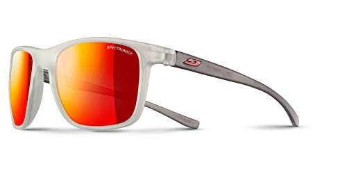 Julbo Herren Trip Sonnenbrille, Kristall, matt/grau, durchscheinend, matt, M