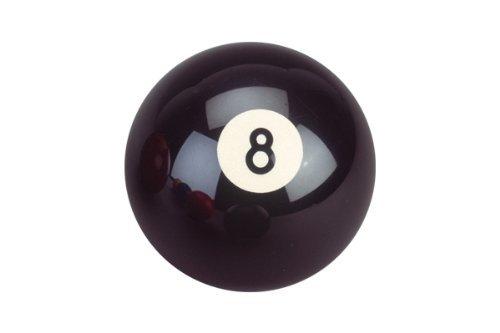 Billard Kugel Nr. 8, schwarz,57,2mm