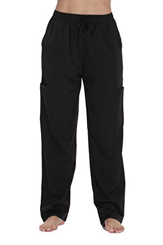 Just Love Stretch Solid Scrub Pants for Women 6825-BLK-XL Black