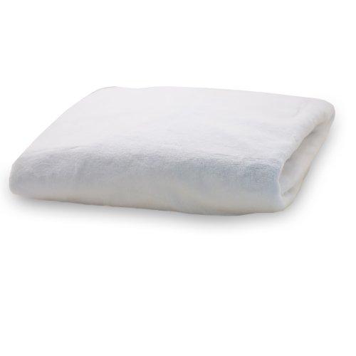 Rumble Tuff CV-CT-300-WH standard Silky Minky Changement Pad Cover - Blanc