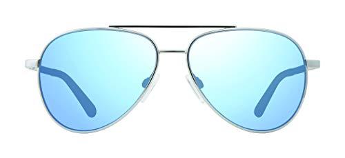 Revo Kinder Polarisierte Sonnenbrille Max Aviator Rahmen 52 mm, Jungen, Chromrahmen