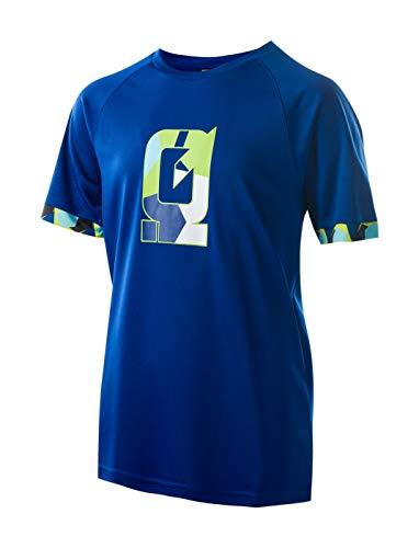 Intelligence Quality Jungen Miho JR Funktions T-Shirt, Monaco Blue, 158