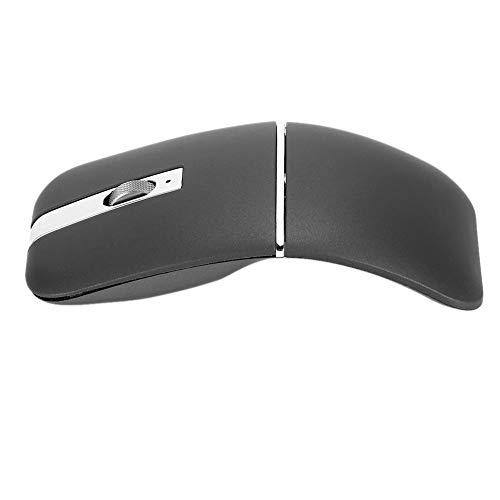 Dual Mode 2.4G Draadloze Muis, Roterende Ultradunne Oplaadbare Mute-muizen, Ergonomisch en Comfortabel Ontwerp Office-Muis voor Bedienden, Laat u Ontspannen Werken
