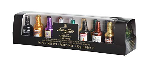 Anthon Berg - Chocolate Liqueurs - Famous Liqueur Brands - 16 bottles 250g...