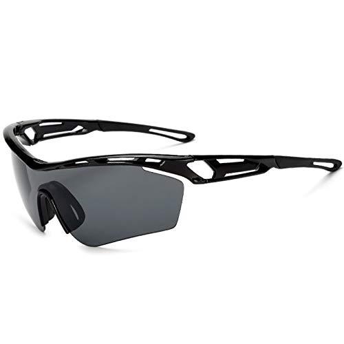 shangji Gafas Ciclismo Hombre Gafas de Sol Deportivas Polarizadas UV400 Protección para Mujeres Pescar Conducir Deportes al Aire Libre
