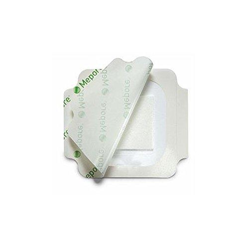 Mepore 275400 Film- und Pad-Verband, dampfdurchlässige Haftfolie mit Saugkissen steril, 9 x 10 cm, 30 Stück