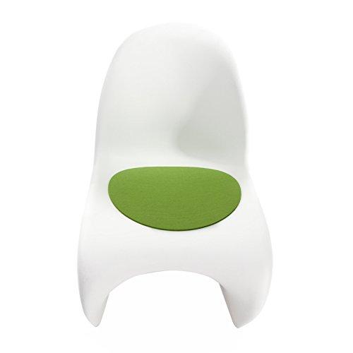 Sitzauflage - Filzauflage Vitra Panton Chair Maigrün Hey Sign