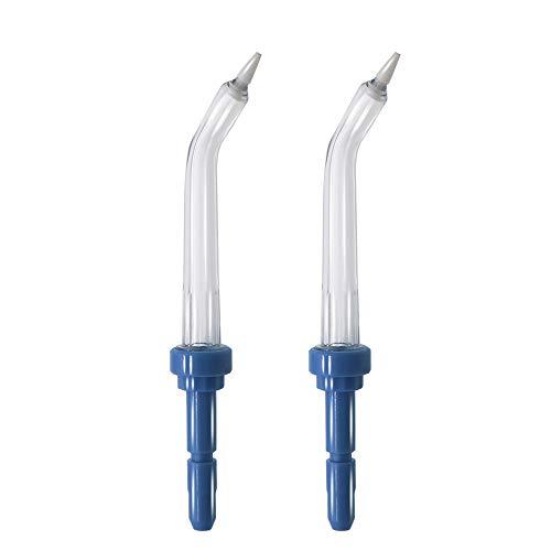 VINFANY 2 puntas de repuesto de bolsillo para chorro de agua dental Pik para Waterpik (puntas de bolsillo) irrigador oral de agua dental para Waterpik WP-100 WP-250 WP-300 WP-450 WP-660 WP-900