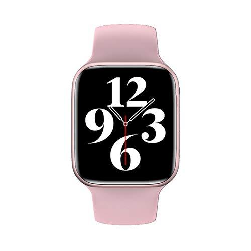 QLK HW22 Smart Watch Impermeable 1.69 Pulgadas Monitor De Ritmo Cardíaco Deportivo Fitness Tracker Mujeres Smartwatch para iOS Android,C