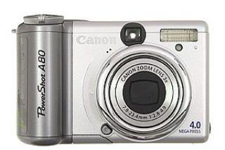 Canon Powershot A80 Digitalkamera (4 Megapixel)