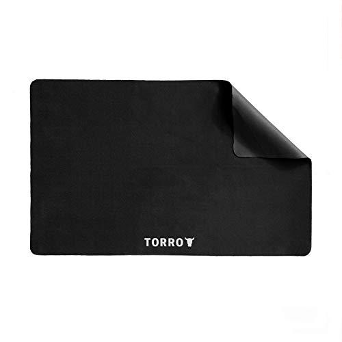 TORRO Mikrofaser Reinigungstuch [Chemikalienfrei] [Sehr Saugfähig] [Antistatisch] [Ultraweich] (Schwarz) (MacBook Pro 13