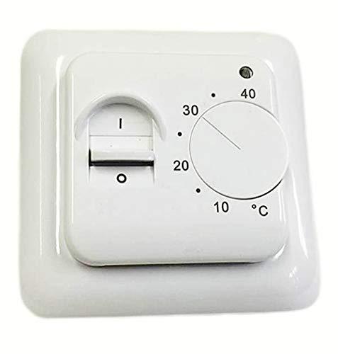 Thermostat BTC70 Regler für elektrische Fußbodenheizung Bodentemperaturfühler