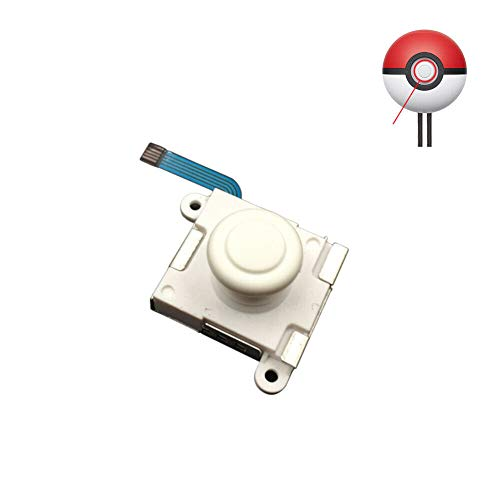 Dgaddcd 3D Análogo Palanca De Mando - Reemplazo Pulgar Vara Controlar Palo Partes para Nintendo Switch Poké Ball Plus Pokeball Controlador