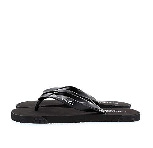 Calvin Klein KM0KM00338 FF Sandals FLIP-Flops Herren Black 45/46