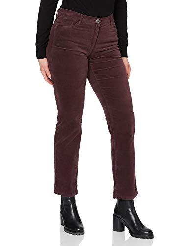 BRAX BRAX Damen BX_Carola Straight Leg Jeans, Rot (Amarone 82), W29/L32 (Herstellergröße: 38)