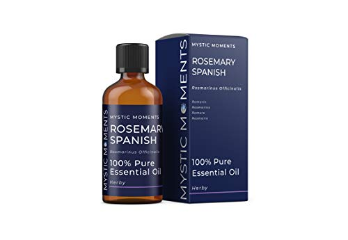 Mystic Moments Huile Essentielle De Romarin D'Espagne - 100ml - 100% Pure