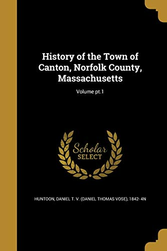 HIST OF THE TOWN OF CANTON NOR