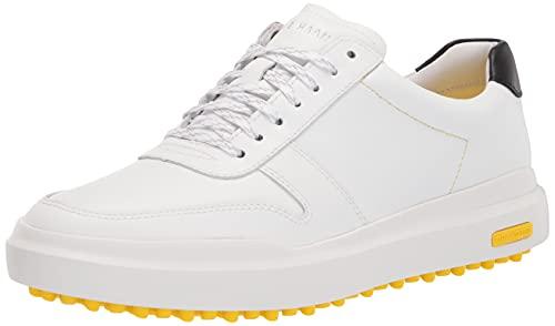 Cole Haan Men's GP AM Golf Sneaker:White WP Shoe, White, 10.5
