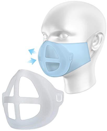 OliverundJay 10x Maskenhalterung 3D – Lippenschutz aus hautfre&lichem Silikon
