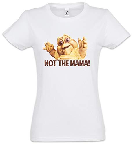 Urban Backwoods Not The Mama! Damen T-Shirt Weiß Größe M