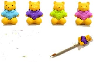 One Teddy Max 77% OFF Bear Pencil Top Eraser Color Spasm price May Vary