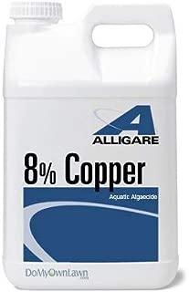 ALG Copper 8 aquatic algaecide replaces Cutrine Plus 2.5 gallons