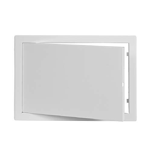 200x300mm Revisionsklappe Wartungstür aus Metall 20x30 cm Revitür in weiß