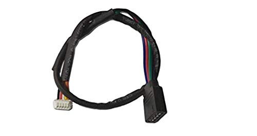 AM4 RGB Kabel für Wraith Spire RGB LED Lichtsockel AM4 4-Pin Anschluss CPU Kühler Lüfter (Kabellänge: 30,5 cm)