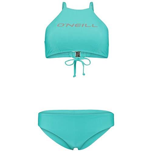 O'NEILL PW Soara Maoi Solid Bikini Mujer, Turquesa (Caraibi), 36