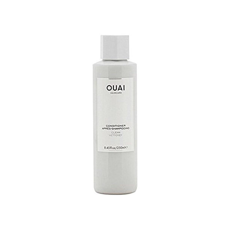 偽善者読書をする誤解を招くOuai Clean Conditioner 300ml (Pack of 6) - クリーンコンディショナー300ミリリットル x6 [並行輸入品]