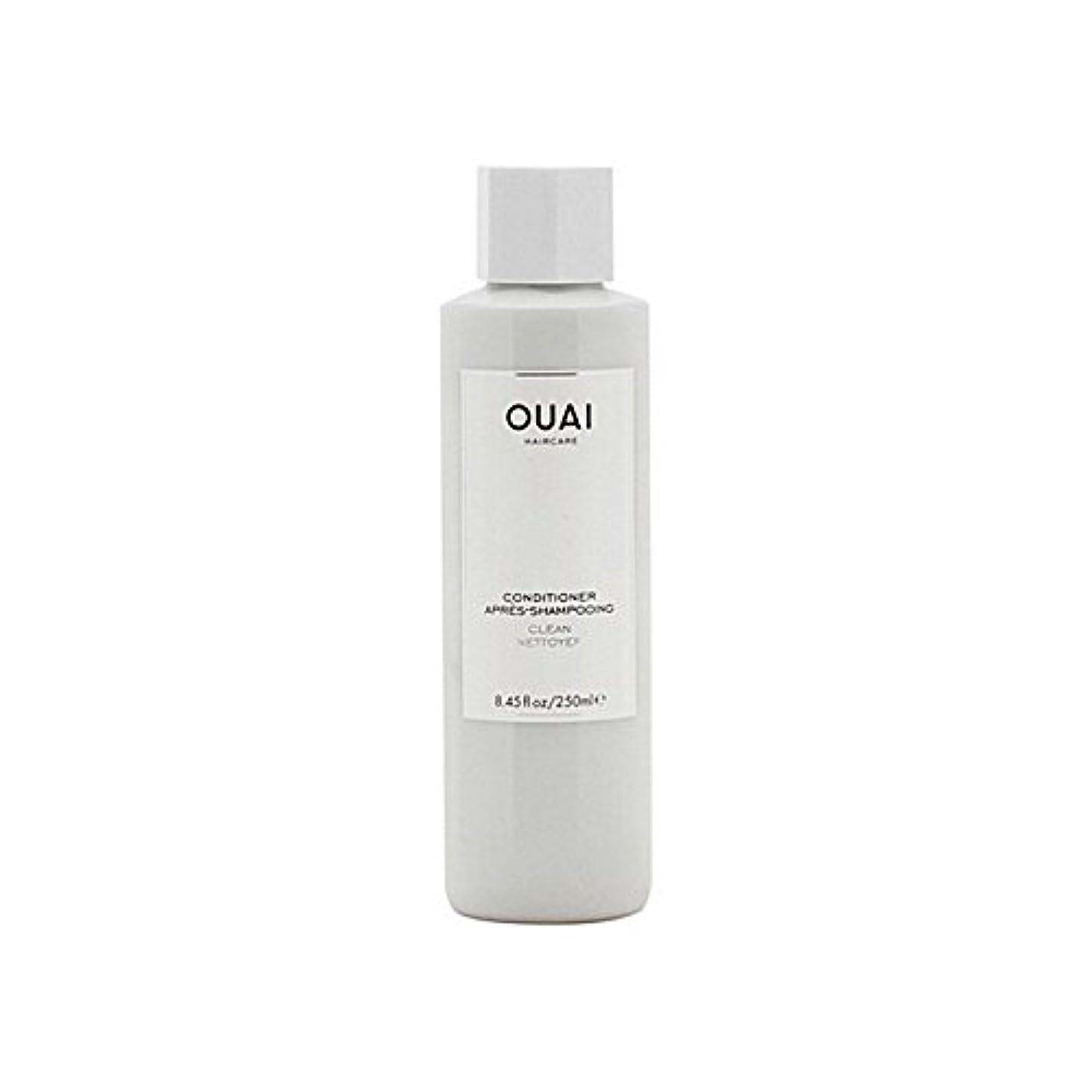 監督する全滅させる反抗Ouai Clean Conditioner 300ml - クリーンコンディショナー300ミリリットル [並行輸入品]