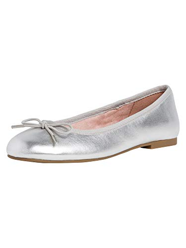 Tamaris Damen 1-1-22101-24 941 Ballerina ANTIslide, Touch-IT