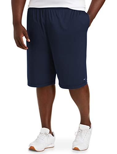 Amazon Essentials Men's Big & Tall Tech Stretch Short fit by DXL, Navy, 4XL