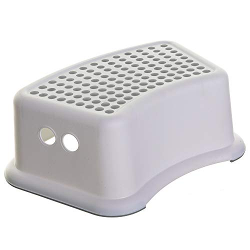 Dreambaby Step Stool Grey Dots