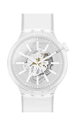Swatch Big Bold Armbanduhr Whiteinjelly SO27E106