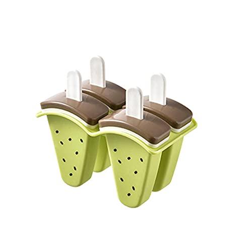 Moldes Helados, molde de la paleta de frutas para niños, ideal para la dentición herramientas de cocina de hogar reutilizables para niños DIY POPSICLE HOMEMADE