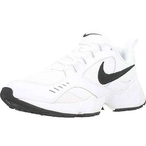 Nike Herren Air Heights Traillaufschuhe, Mehrfarbig (White/Black/Platinum Tint 101), 42 EU