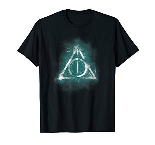 Harry Potter Geometric Deathly Hallows T-Shirt