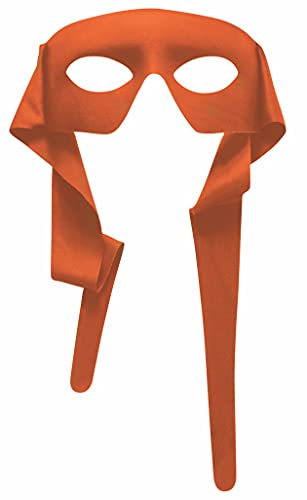 Forum Novelties Venetian Mardi Gras Mask Costume Accessory Orange