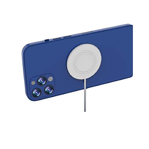 LLSL Cargador inalámbrico magnético 15W Compatible con mag-Safe, Compatible Apple 12