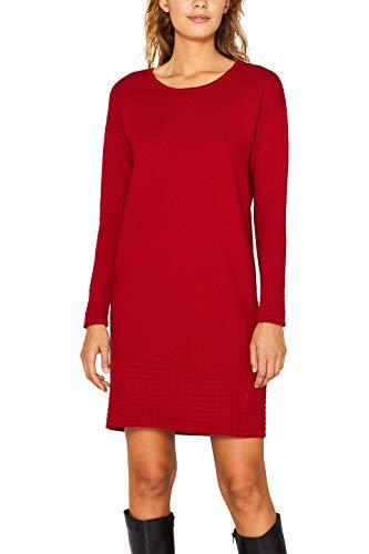 edc by ESPRIT Damen 089Cc1E028 Kleid, Rot (Red 630), Medium (Herstellergröße: M)