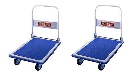 Folding Platform Cart from Shoulder Dolly –  Push Moving Dolly...