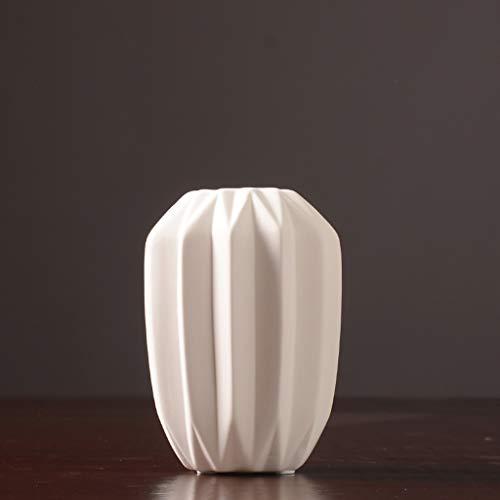 PLL vaas wit keramiek bloemenvaas moderne minimalistische woonkamer TV kast eettafel Home vaas stijl B