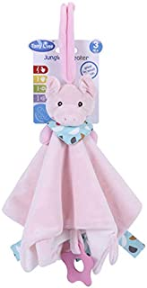 BEESCLOVER Infant Soothing Towel Toy Baby Sleeping Pacify Cloth Bite Doll Teether piggy 40cm