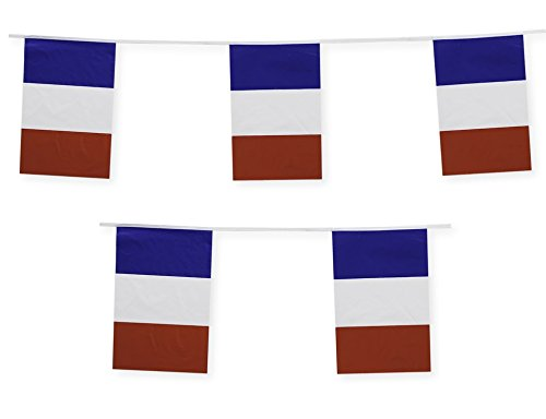 France Flag Banner French Party Decoration by Gabby Fun Corp