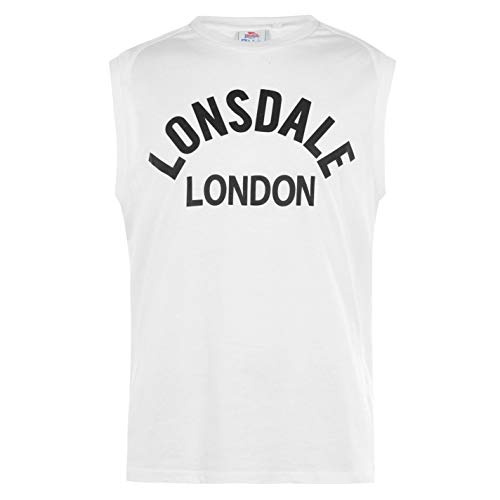 Lonsdale Hombre Box Camiseta Sin Mangas